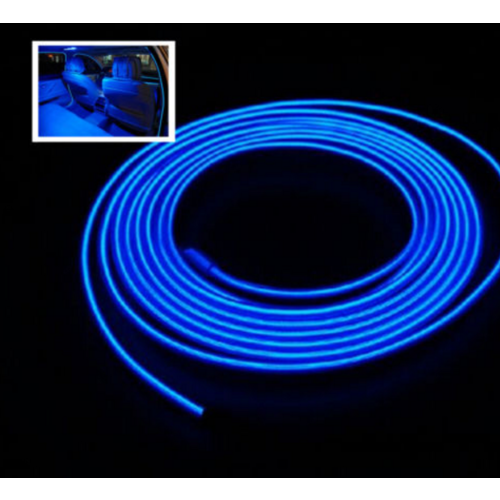 EL wire blauw