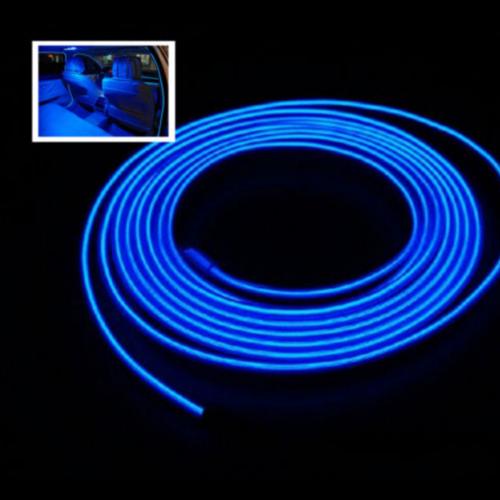 EL wire blauw 4m