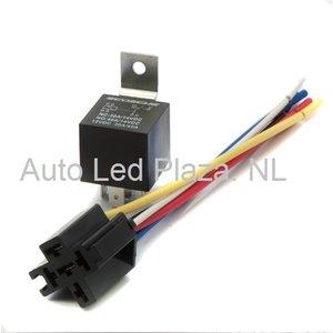 5 pins 24V 40Amp schakel relay t.b.v. aansturing LED balk