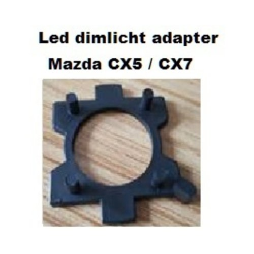 LED Dimlicht adapter voor Mazda 3,5,6, MX-5, CX-5, CX-7, RX-8 etc. 2st.
