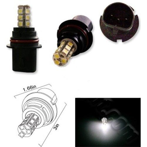 9004 18X 5050SMD LED Wit (Dagrijverlichting / breedstraler)