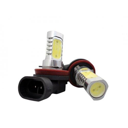 H10 6W High Power LED  Xenon wit 6500K (o.a. DRL)