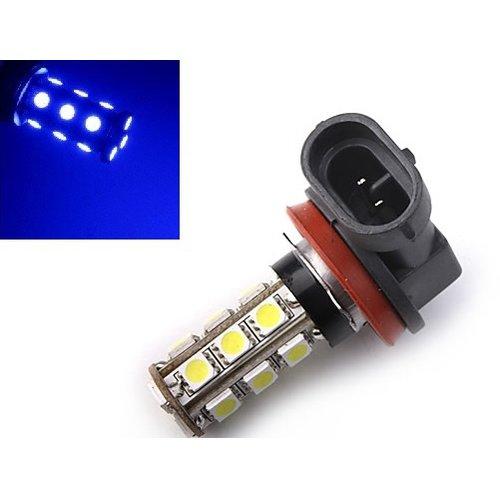 H11 18X 5050SMD LED blauw voor o.a. breedstraler