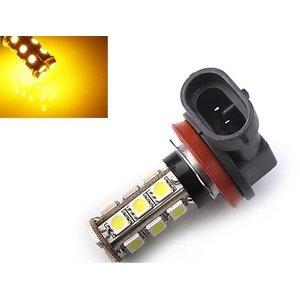 H11 18X 5050SMD LED Geel/amber voor o.a. breedstraler