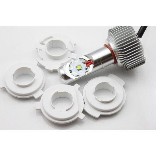 H4, H6 20W 1900LM LED motor koplamp set