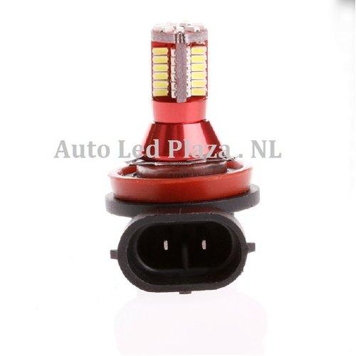 H8/H11 57x 3014SMD LED ( dagrijverlichting/Breedstraler)