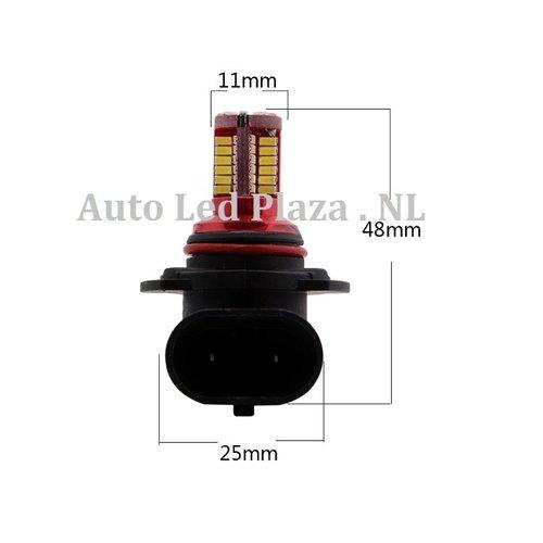 HB3 9005 57x 3014SMD LED ( dagrijverlichting/Breedstraler)