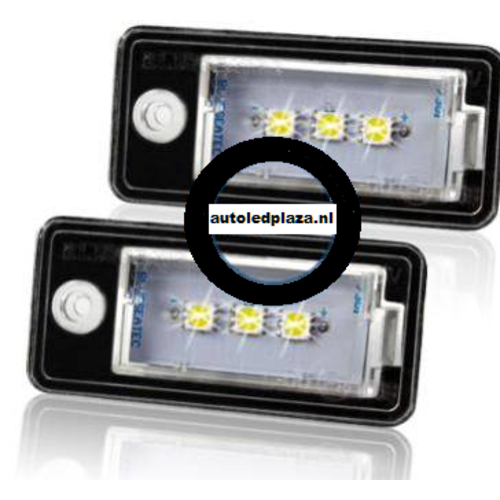 Kenteken LED unit set 3x 5450SMD geschikt voor Audi type 1