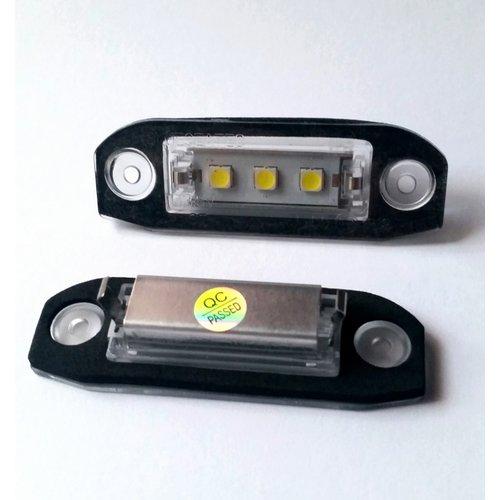 Kenteken LED unit set 3x 5450SMD highpower LED geschikt voor VOLVO