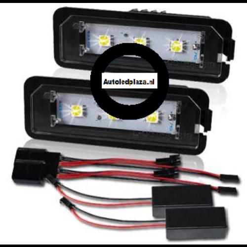Kenteken LED unit set 3x 5450SMD highpower LED Porsche
