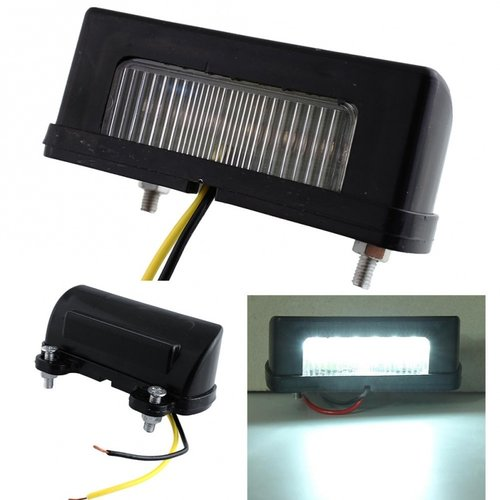 LED kenteken unit 6x LED 12V/24V