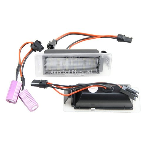 LED kenteken verlichting geschikt voor OPEL insignia Tourer en Opel Mokka