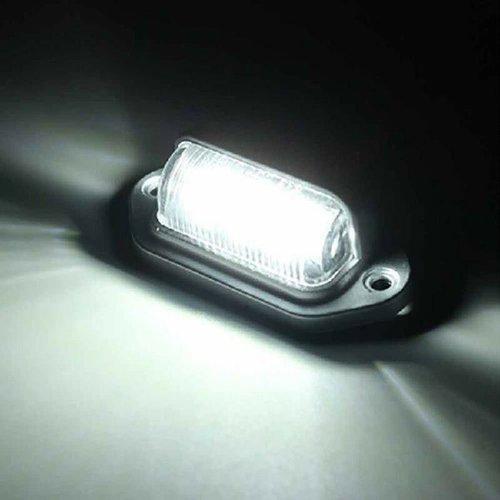 Universeel LED kenteken unit 6x LED 12V