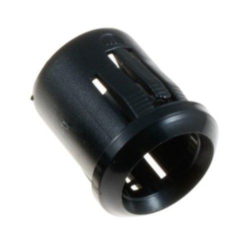 10mm losse led houder zwart