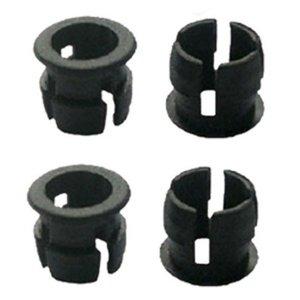 3mm led inbouw houder zwart per 4 stuks