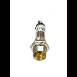 Led indicator module 12V DC Geel