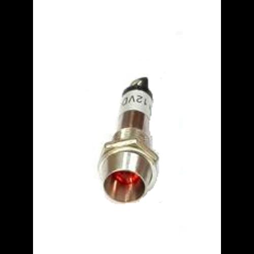 Led indicator module 12V DC rood
