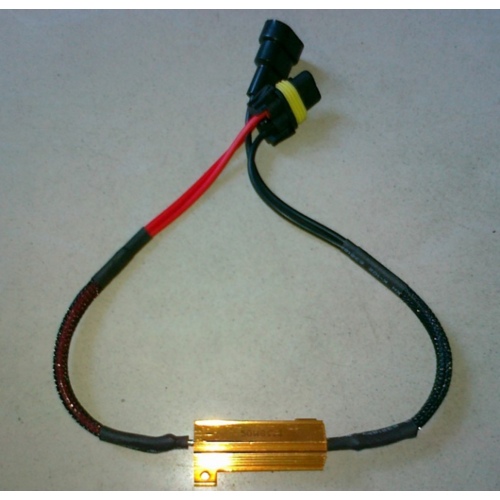 9005 LED DECODER 50W 6 OHM weerstand set a 2 stuks