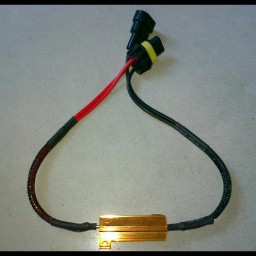 9006 LED DECODER 50W 8OHM weerstand set a 2 stuks
