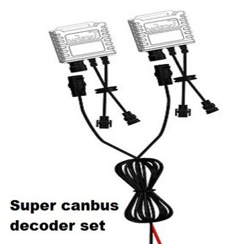 HB4 9006 super canbus led verlichting weerstand plug and play 2st