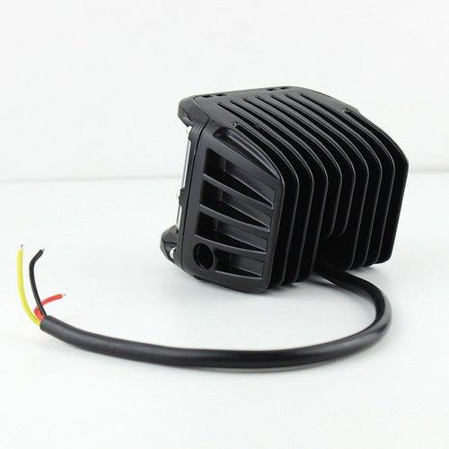 45W 3600LM 12X CREE high power led werklicht incl zij flash functie oranje Per 2st.