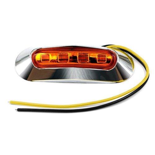 E4/DOT-keur zij markering oranje LED