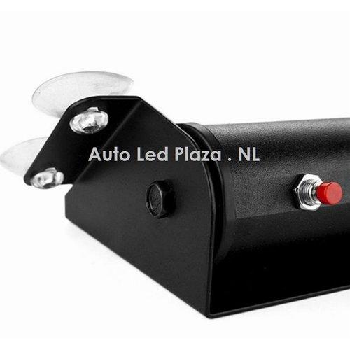 rood blauw 8x highpower led flash strobe module met zuignap