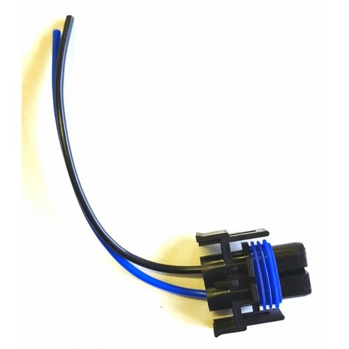 H8 / H9 / H11 male plug incl. 11cm draad