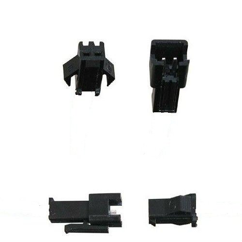 SM connector set incl. bedrading (male/female)
