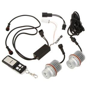 1 set E39 10W RGB Angel Eyes met Controller LED Marker geschikt voor BMW
