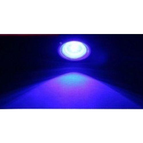 COB LED 2X Eagle eye 3W high power DRL LED kleur: Blauw