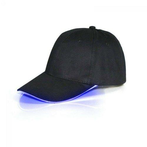 Party LED cap blauw led