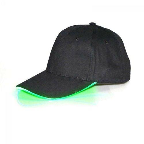 Party LED cap groen led