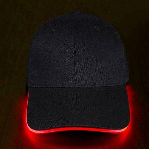 Party LED cap rood led