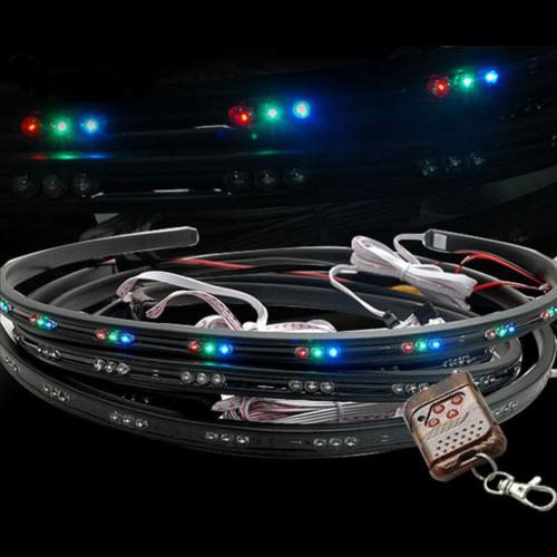 Underbody LED kit incl. remote controller 2x 90cm/2x120cm