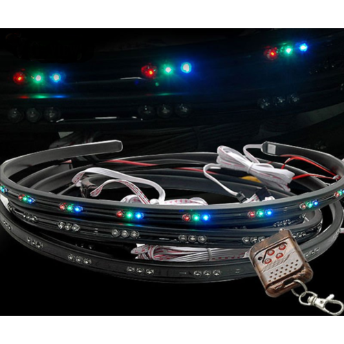 Underbody LED kit incl. remote controller 4x 90cm