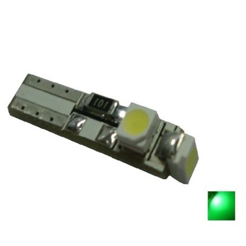 Canbus T5 3x 1210SMD LED groen