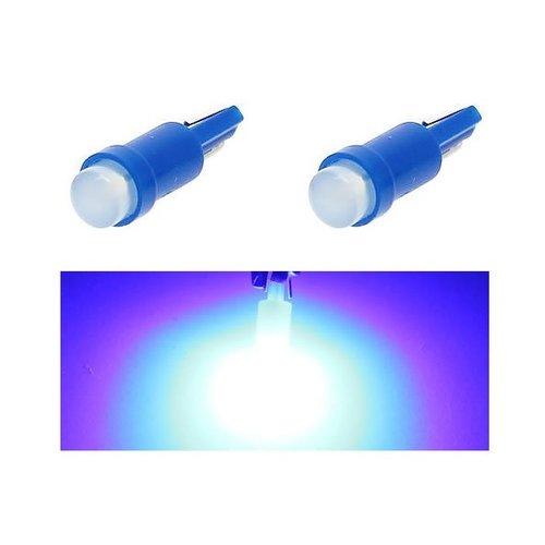 COB LED T5 0,5W COB Glow LED blauw
