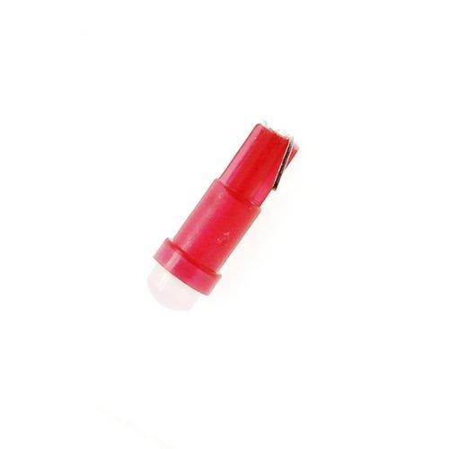 COB LED T5 0,5W COB Glow LED rood
