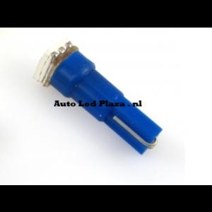 T5 1x 5050smd LED blauw