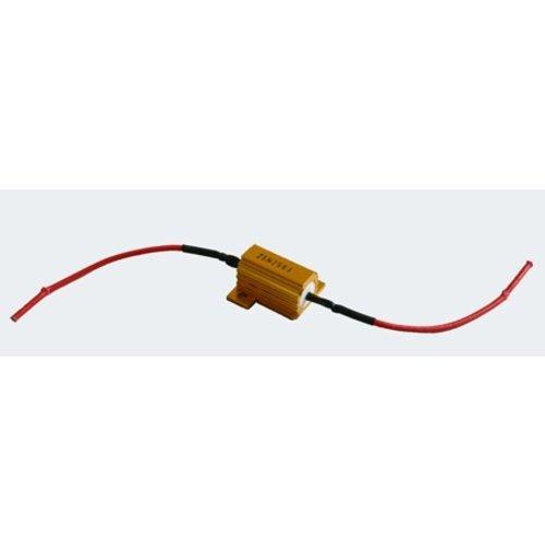 25W 8 ohm resistor Canbus weerstand ( en knipperlicht decoder)