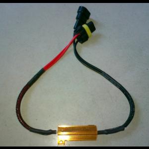 9005 HB3 LED DECODER 50W 8OHM weerstand set a 2 stuks