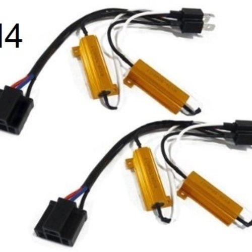 Overzicht van de Plug and play Canbus en knipperlicht weerstanden.