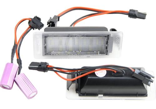 LED license plate lighting sets