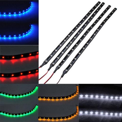 12V/24V LED strips in diverse lengtes en kleuren