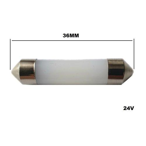 24v C5w 36mm 8x 3014SMD LED white full glow model