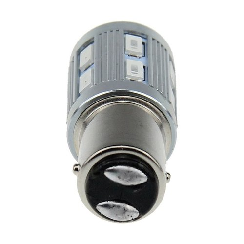 Cree LED BAY15D 12x 5630SMD + 1x Cree in top red