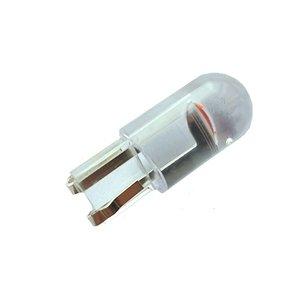 COB LED T10 W5W rood 1x LED GLass-look
