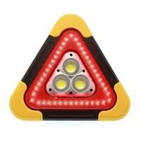 Rode Led gevaren driehoek met werklicht en powerbank functie