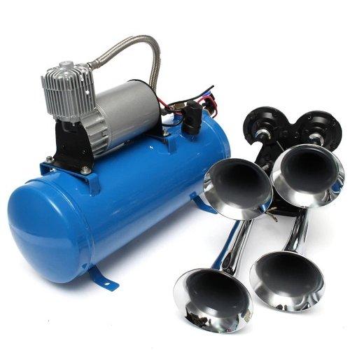 styleparts Train horn set incl compressor 12V